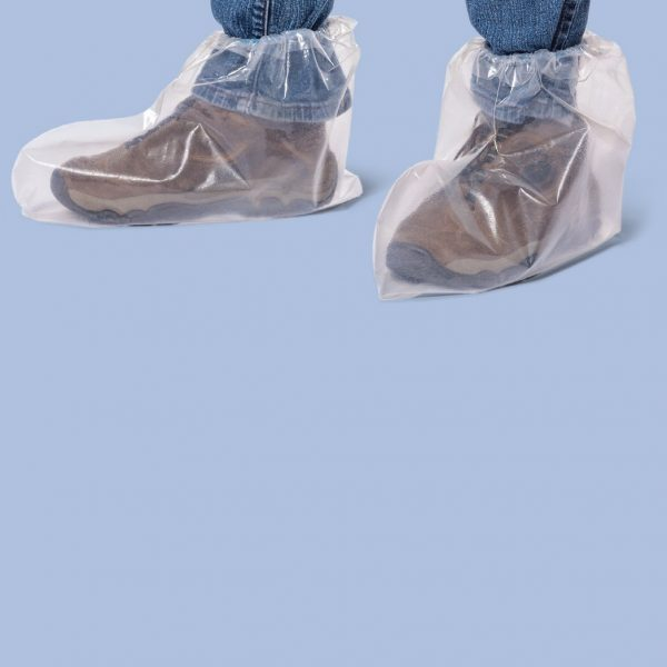Ame Disposable PE Shoe Covers a pairs