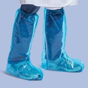 Ame Disposable PE Short Leg Covers Level 1 a pairs