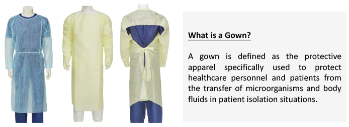 White Paper Gown vs Coverall 2