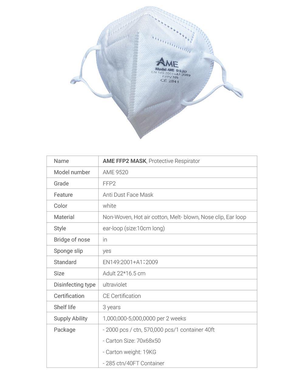 Medical Mask FFP2 Dr. Americo Group JSC 07