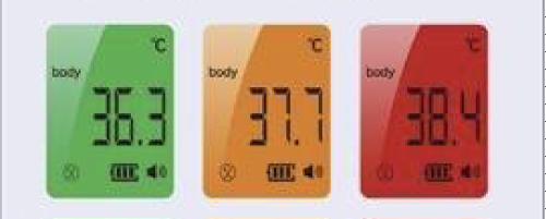 infrared forehead thermometer AT001 1