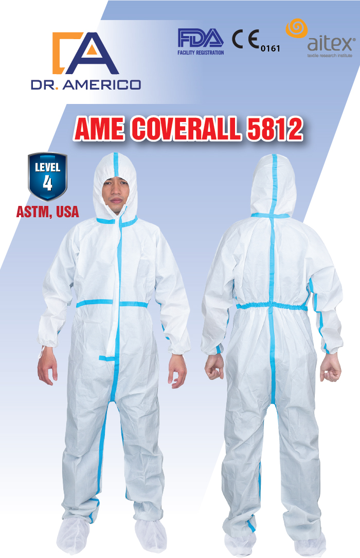Technical Datasheet AME COVERALL 5218 1